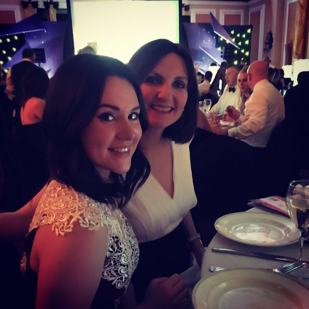 Beth and Lynsey at the Cardiff Life Awards